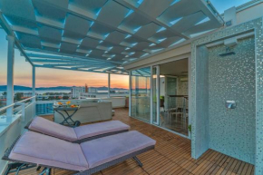Sunset Penthouse Apartment With Jacuzzi  Задар