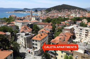 Гостиница Apartments Caleta  Сплит
